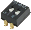 DIP Switches -- 1825059-1-ND -- View Larger Image