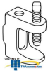 Erico Reversible Beam Clamp with Side Mounting Threads.. -- BC260025EG