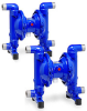 Air Operated Diaphragm Pumps, Dual Pumps, Series DZ