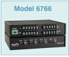TTL Logic-to-ST Fiber Interface Converter (Desktop) -- Model 6766 -Image