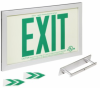 Mountable Glow-In-The-Dark Exit Sign -- SGN399