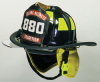 Cairns 880 Traditional Thermoplastic Fire Helmet -Image