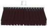 Deck Scrub,Stiff Bristle,3x12 In,Black -- 8UPK7