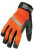 Mechanics Gloves,Orange,M,PR -- 2NNY5