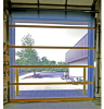 Wire Screen and Solid Vinyl Doors -- DuraShield Bird Screen Door - Image