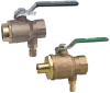 Combination Ball and Relief Valve -- Series BRVS/BRVT