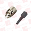 BLACK BOX CORP FOT212 ( FIBER OPTIC CONNECTOR, CERAMIC FERRULE, FC SINGLE-MODE SIMPLEX, 126-ΜM/0.9-MM ) -- View Larger Image