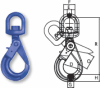 Grade 100 Swivel Self-Locking Hooks with Bearing