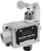 MICRO SWITCH BAF/DTF Series High Capacity Enclosed Switches, Top Roller Arm Actuator and Bottom Plunger, 1 NC 1 NO SPDT Maintained, Acutor Position - Right -- BAF1-3RN2X-RH -Image