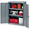 Storage Cabinet, Welded, Gray -- 1DYY5
