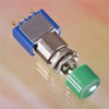 Mini. Momentary Or Alternate Action Pushbutton Switches -- 8442AB - Image