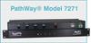 Single Channel RJ45 A/B/C/D Switch -- Model 7271 -Image