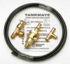 Auto Drain Valve Kit,Pneumatic,Brass -- 12U302
