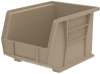 Akro-Mils Akrobin Earthsaver 50 lb Sandstone Hanging / Stacking Storage Bin - 10 3/4 in Length - 8 1/4 in Width - 7 in Height - 1 Compartments - 30239RECY SANDSTONE -- 30239RECY SANDSTONE