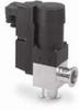 Solenoid vacuum valve; right-angle, NW25, aluminum, 240 VAC -- GO-79302-78