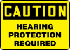 Hearing, Foot & Hand Protection Signs -