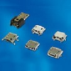 Cable Assemblies and IO cable connectors, IO cable connectors, USB Series, Mini USB Receptacle, Mounting style=MID-Mount -- 10057202-R00LF - Image