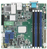 Intel® Atom™ C3000 Mini-ITX Server Board with 4 DDR4 DIMM, One PCIe x4 Slot (Gen 3.0), 8 SATA III, IPMI -- ASMB-260 -Image