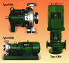 Sealless Magnetic Driven Centrifugal Pumps -- Type KMV