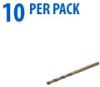 Jobber Drill Bit: heavy duty HSS-Co5, 1.5mm diameter, 10/pk -- 215015 -- View Larger Image