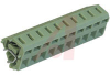 Block, Terminal; 16 A; 250 V; 5.0 mm; 24 to 14 AWG; 1; Spring-Cage; Soldering -- 70054459 - Image