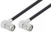 TNC Male Right Angle to TNC Male Right Angle Cable 150 cm Length Using LMR-240 Coax with 90 Deg. Clock -- PE3C2805/PH90-150CM -Image
