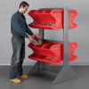 AKRO-MILS Easy Flow Gravity Hopper Rack -- 5196702 - Image