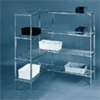 Add-on shelving unit for four-shelf starter unit 47524-03 -- EW-47524-13 - Image
