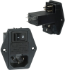 Power Entry Connectors - Inlets, Outlets, Modules -- Q340-ND