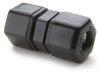 Black PP Reducer Union Connector -- 60407