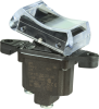 TP Series Rocker Switch, 1 pole, 2 position, Screw terminal, Above Panel Mounting -- 1TP4-2 - Image