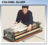 Large Label Mounting -- Colonel Gluer