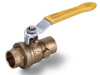 Brass Ball Valve -- s.42 solder ends
