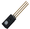 HIH-4010/4020/4021 Series covered filtered integrated circuit humidity sensor, 1,27 mm [0.050 in] lead pitch SIP -- HIH-4021-002 -Image