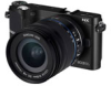 Samsung NX210 20.3mp Compact System Camera w/ Built-In WiFi - 3in AMOLED Display - 1080 30p HD Video -- EV-NX210ZBSBUS
