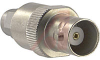 Adapter; SMA to BNC; Stainless Steel, Brass (BNC) -- 70084352
