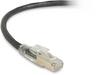 5FT Black CAT6A 650MHz Patch Cable F/UTP CM Locking Snagless -- C6APC80S-BK-05 - Image