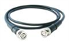 Low-cost, black coaxial cable (RG58/U),10-ft, BNC plug to BNC plug -- 012A10 -- View Larger Image