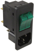 Power Entry Connectors - Inlets, Outlets, Modules -- 486-2200-ND - Image