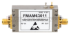 0.85 dB NF Input Protected Low Noise Amplifier, Operating from 3.1 GHz to 3.5 GHz with 35 dB Gain, 13 dBm P1dB and SMA -- FMAM63011 - Image