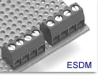 Fixed Terminal Block -- ESDM Low Profile Series -- View Larger Image