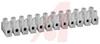 Terminal Strip, Scrw; 12; 20-12 AWG (UL), 26-12 AWG (CSA); 300; 10 mm; 6 mm -- 70211832