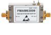 1.2 dB NF Input Protected Low Noise Amplifier, Operating from 2.6 GHz to 3.1 GHz with 40 dB Gain, 10 dBm P1dB and SMA -- FMAM63009 -Image