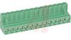 PCB Terminal Block, Plug, 14 pos, 12 Amp (5.08mm pitch) 250V Screw Termination -- 70055252