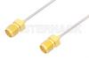 SMA Female to SMA Female Cable 6 Inch Length Using PE-SR047AL Coax -- PE34835-6 -Image