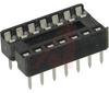 Socket, DIP;14Pins;Dual Leaf;Economy Ladder;0.3In.;Phosphor Bronze;Tin/Lead -- 70042905 - Image