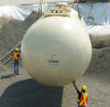 Compartment Underground Double-wall Tank -- 6' Diameter