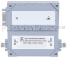 50 dB Gain High Power GaN Amplifier at 25 Watt Psat Operating from 2 GHz to 6 GHz with SMA Input, SMA Output -- SPA-060-45-25-SMA -Image
