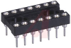 Socket, DIP;14Pins;Low Profile;Closed;Solder Tail;0.3In.;Gold;SMD;0.125In.;3A -- 70206587 - Image