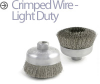 Mini-Grinder Cup and Wheel Brushes -- BUC-3